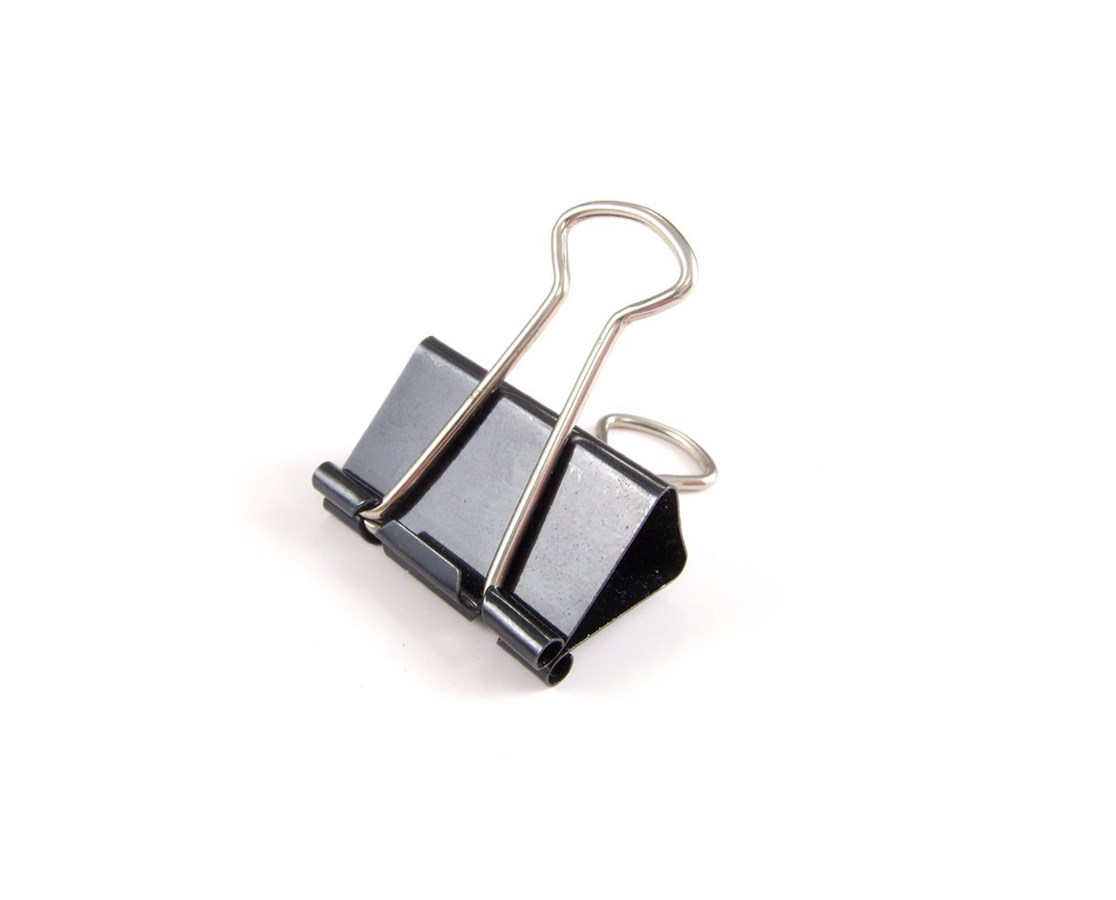BINDER CLIPS, SMALL 3/4in (DZ) 20107