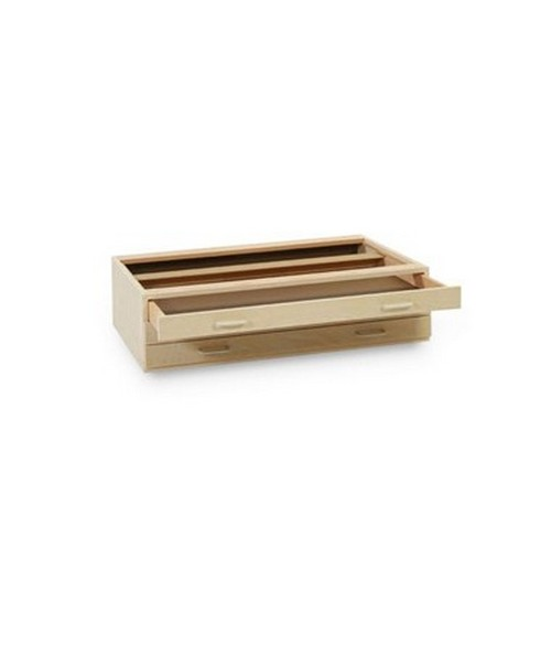 SMI 3 Drawer Birch Plan File for 24 x 36 Sheets 2436-3DB