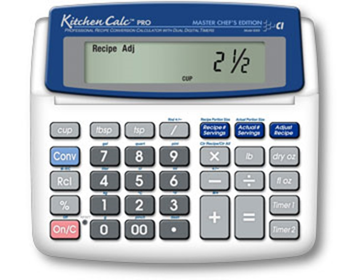 KitchenCalc Pro Master Chef's Edition 8305