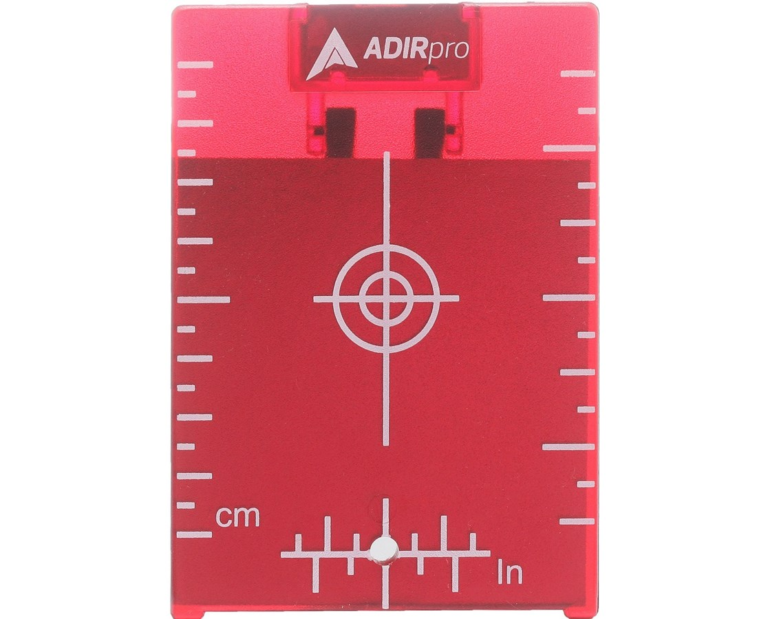 "Red Target Plate w/Stand, 4""x3"" ADI708-01"