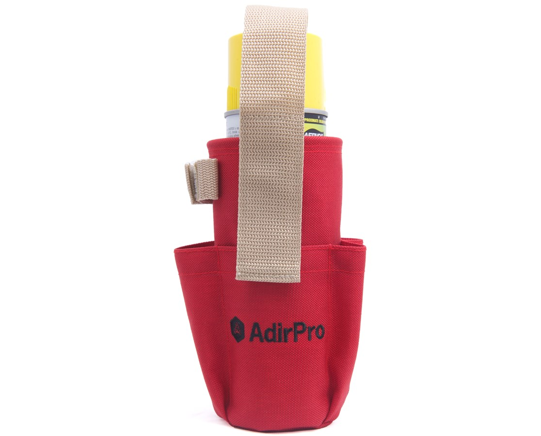 AdirCorp Spray Can Holder with Pockets and Clip