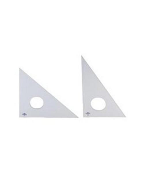 Alvin Professional Acrylic Triangles 30 60 Fluorescent