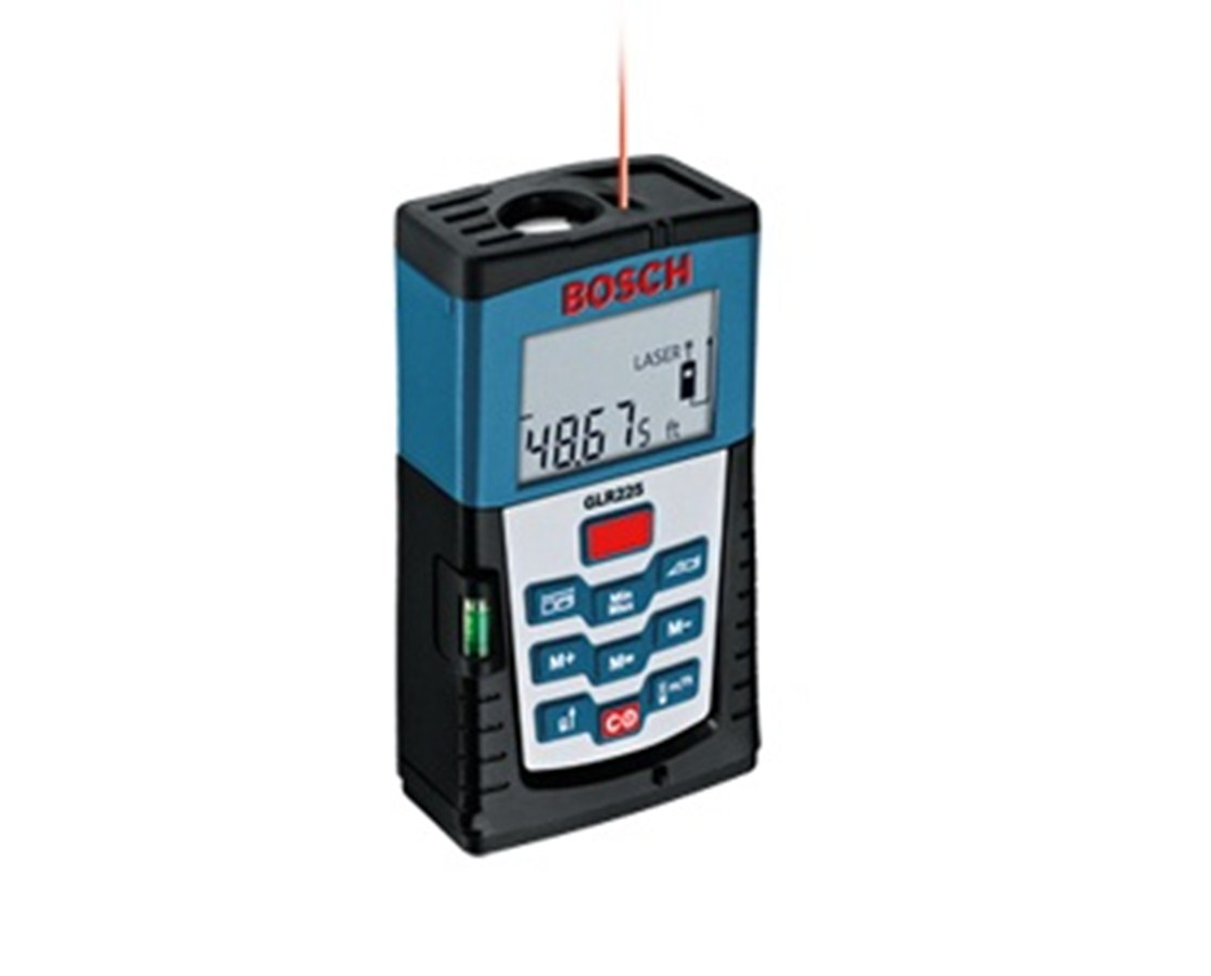 bosch glr 225 laser distance meter tiger supplies. Black Bedroom Furniture Sets. Home Design Ideas