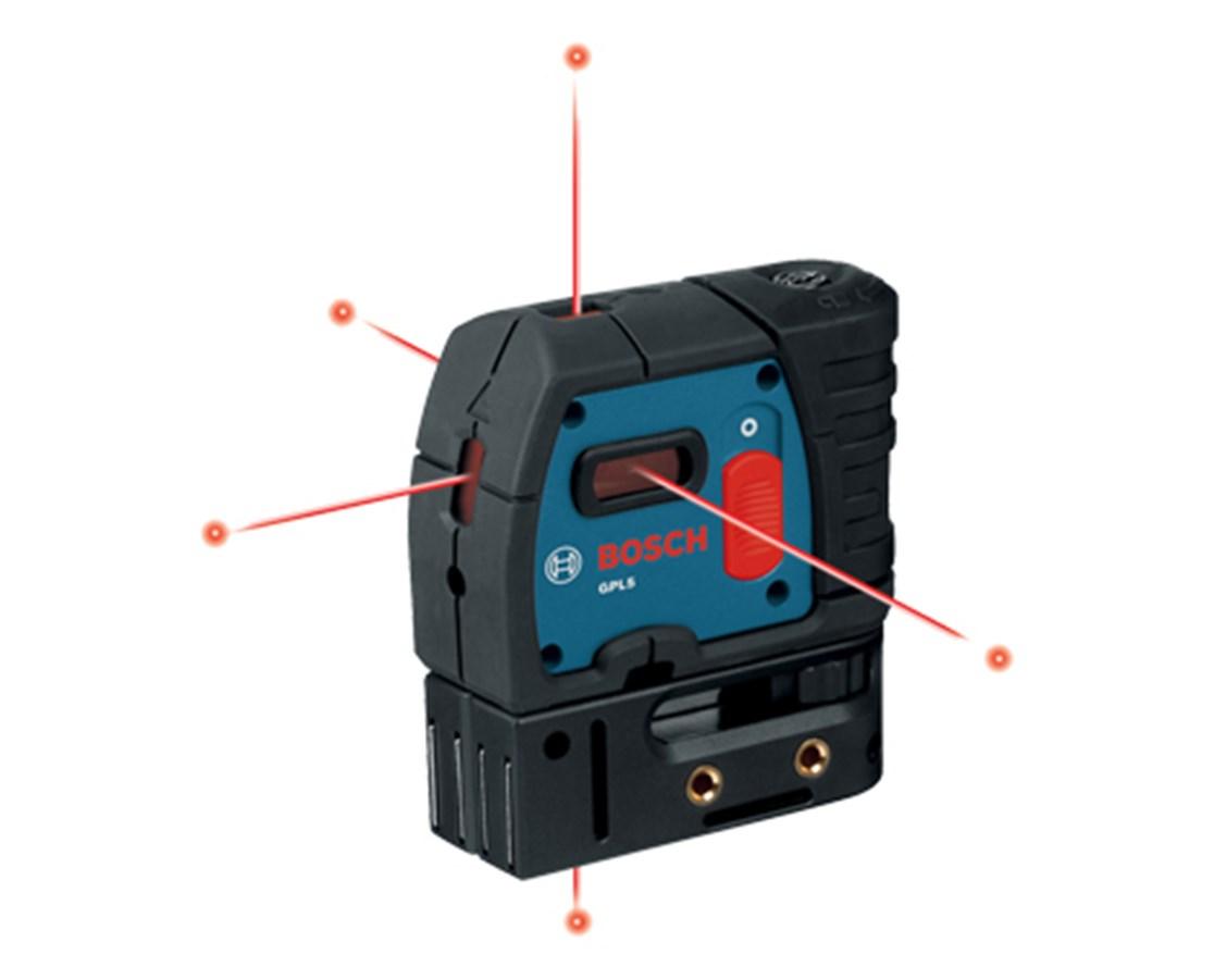 bosch gpl5 5 point laser level 0601066213 tiger supplies. Black Bedroom Furniture Sets. Home Design Ideas