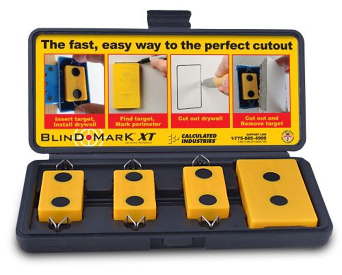 Calculated Industries Blind Mark Magnetic Drywall Locator Tool CAL8105