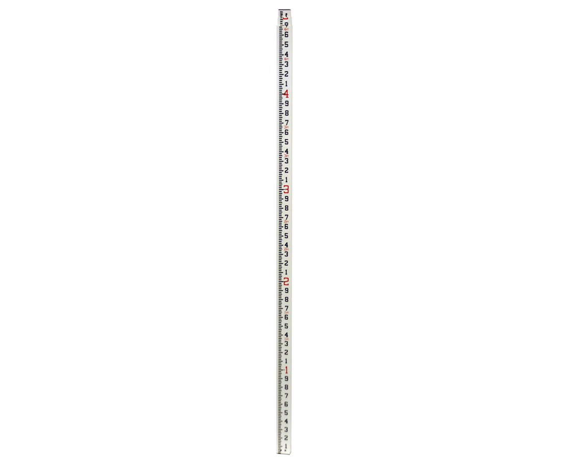 Crain Rectangular Series Leveling Measuring Rod 13' 92021