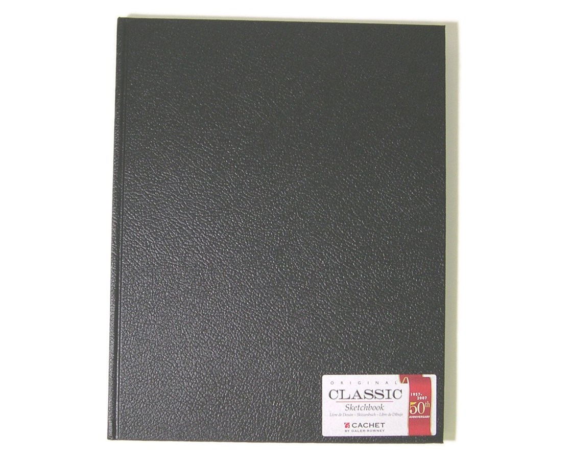 CLASSIC BLACK SKETCH BOOK CS10010