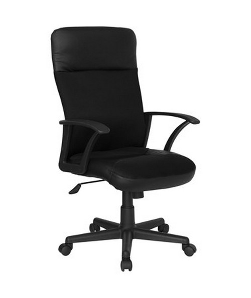 High Back Leather / Mesh Combination Executive Swivel Office Chair [CP-A142A01-GG] FLFCP-A142A01-GG