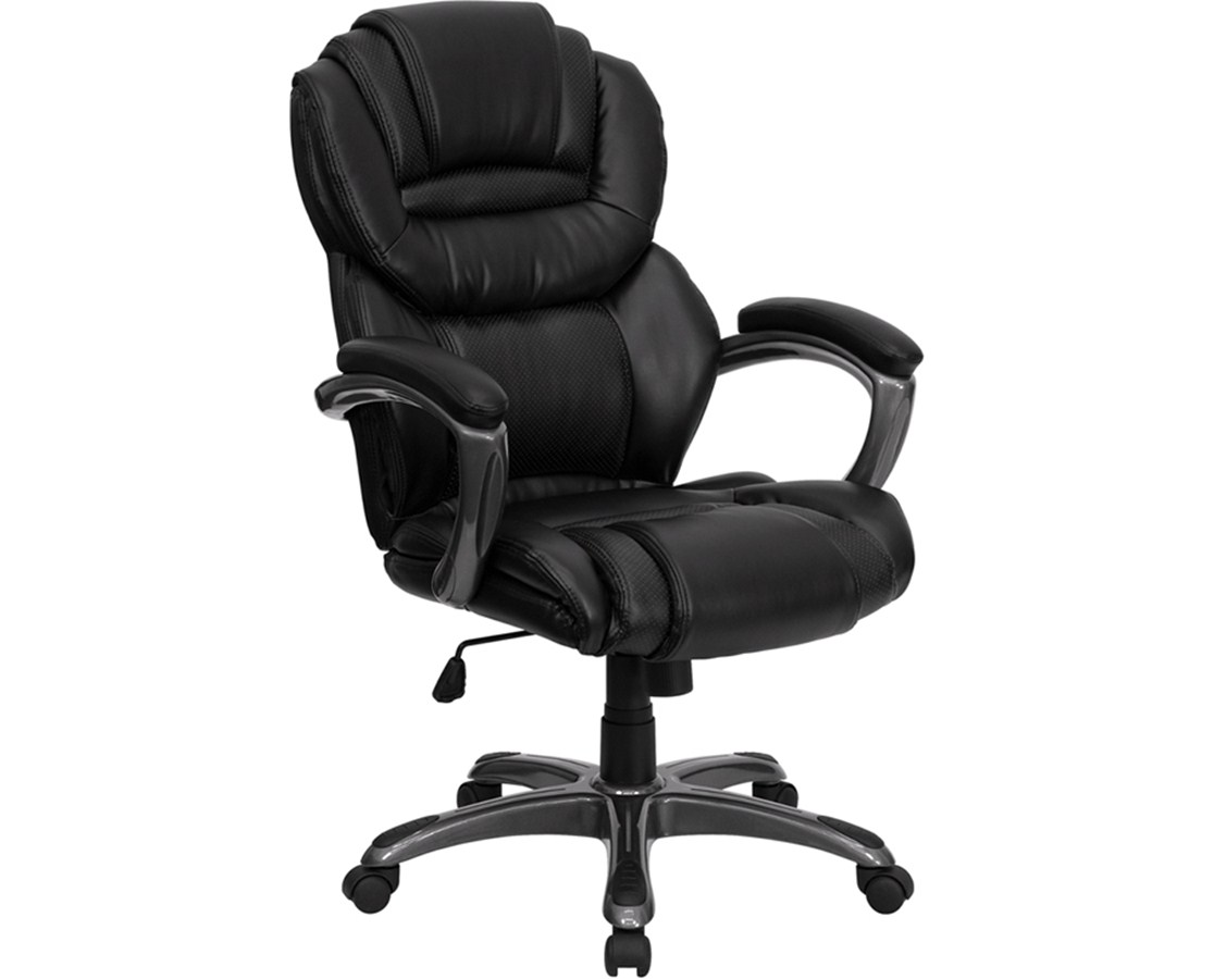 Flash Furniture High Back Executive Office Chair GO-901-BK-GG