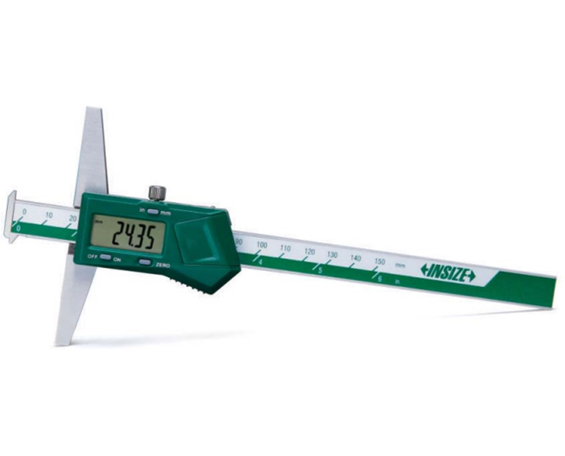 InSize Electronic Depth Gage Caliper with Two Hooks 1144