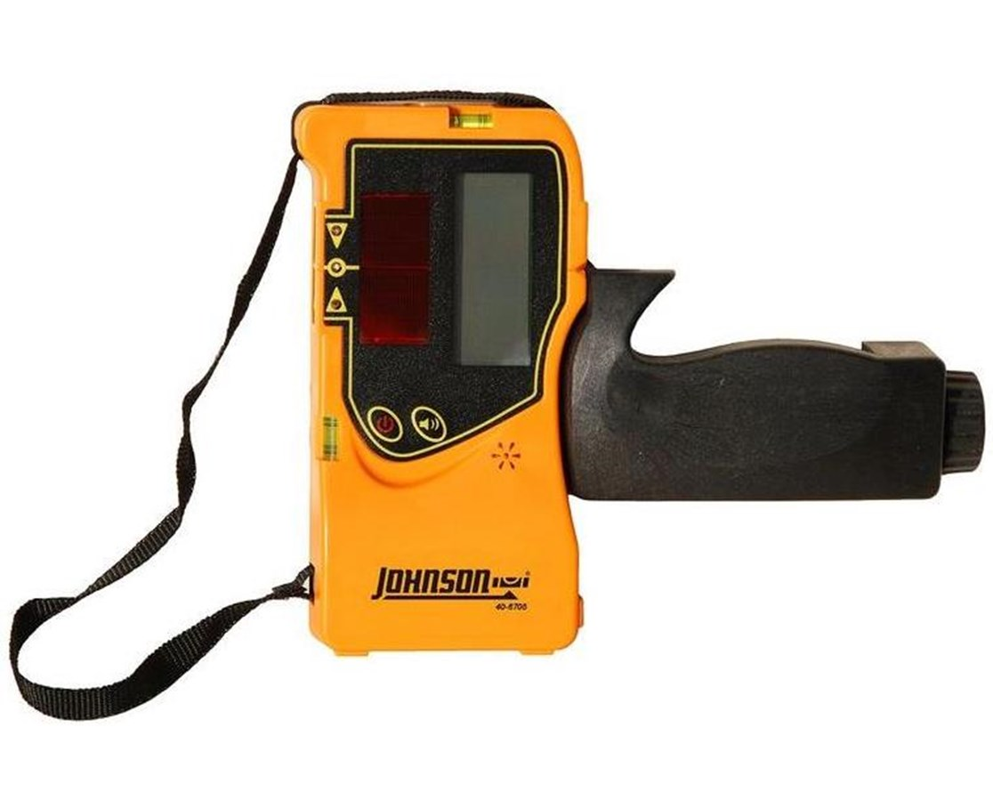 Johnson One-Sided Pulse Line Laser Detector w/ Clamp JOH-40-6780