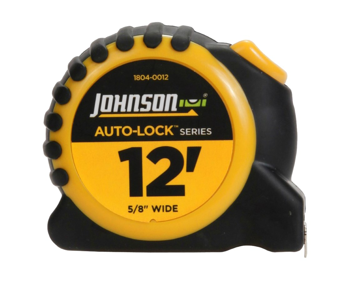 Johnson Level Auto-Lock Power Tape JOH1804-0012-