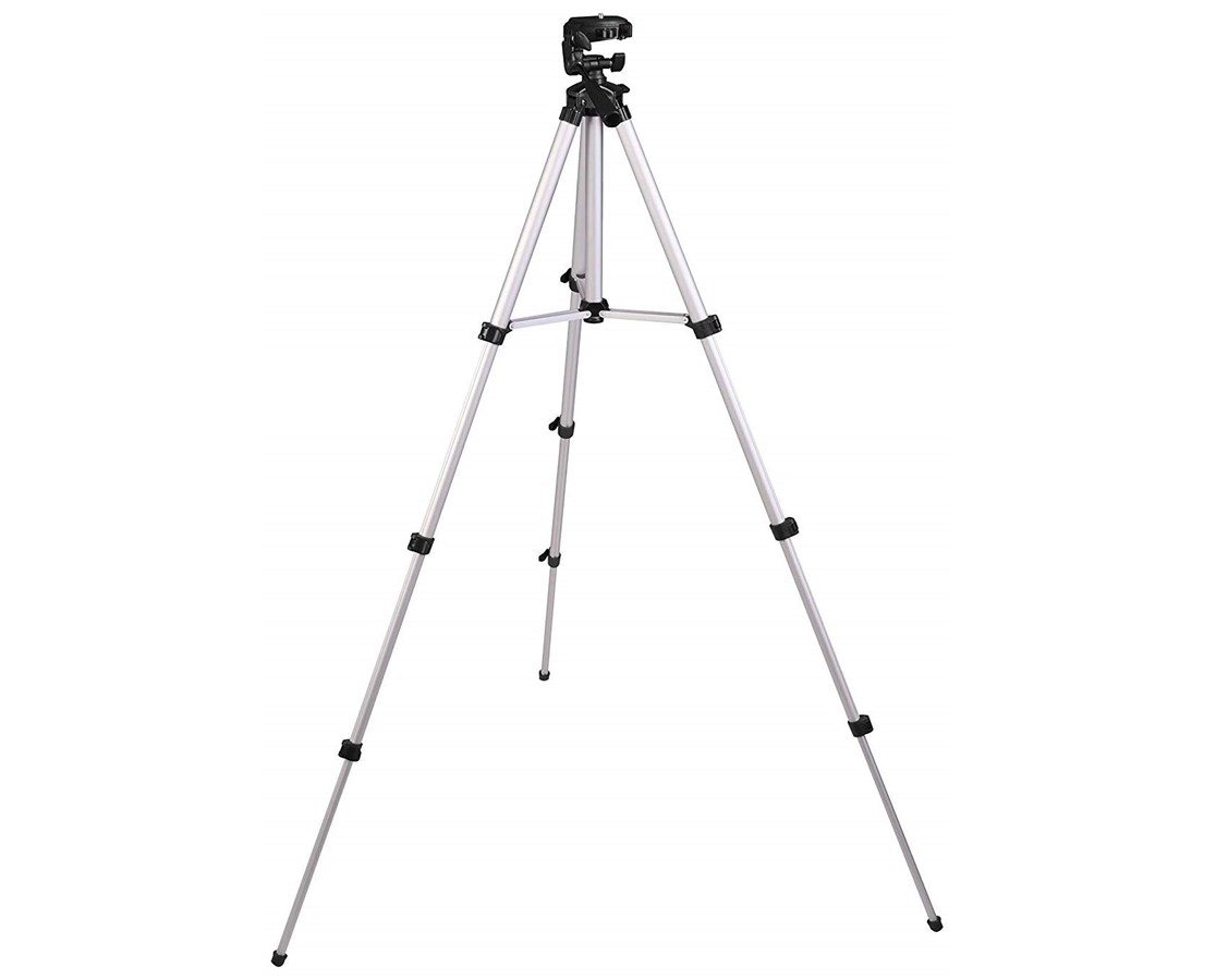 "Johnson Level 1/4""-20 Elevating Aluminum Tripod JOH40-6796"