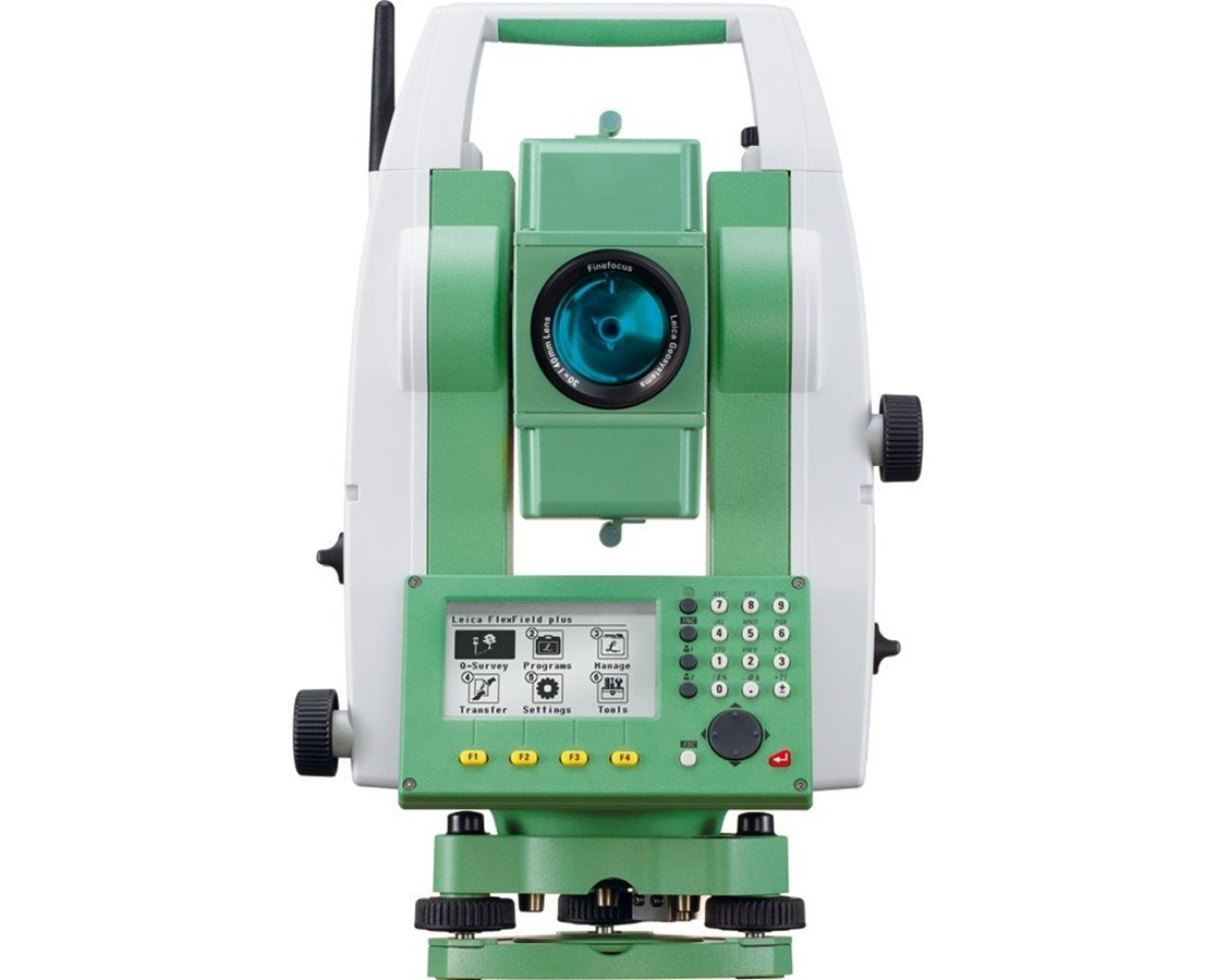 Leica Flexline TS06 Plus Reflectorless Manual Total Station - with  Bluetooth (for Mid - High