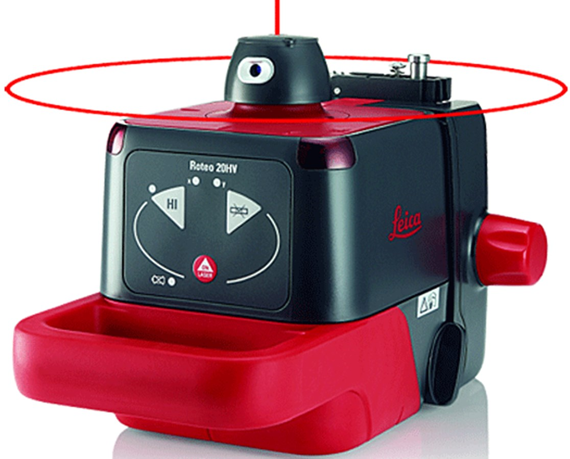 Leica Roteo Series Red Rotary Laser LEI772789-