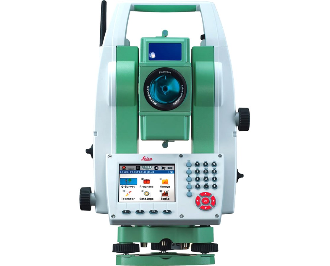 Leica Flexline TS09 Plus 5 Second Reflectorless Total Station with Bluetooth LEI796970
