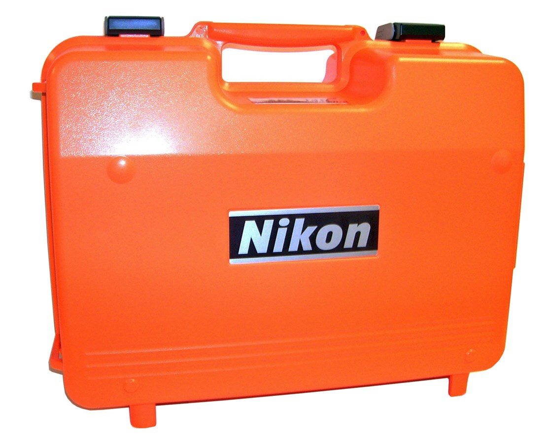 Plastic Instrument Carrying Case for Nikon DTM and NPL total stations NIKHQU55000