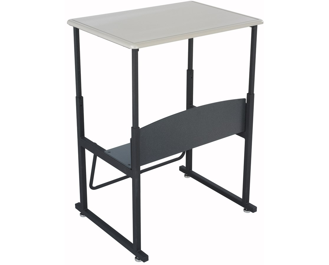 Safco AlphaBetter Adjustable-Height Stand-Up Desk