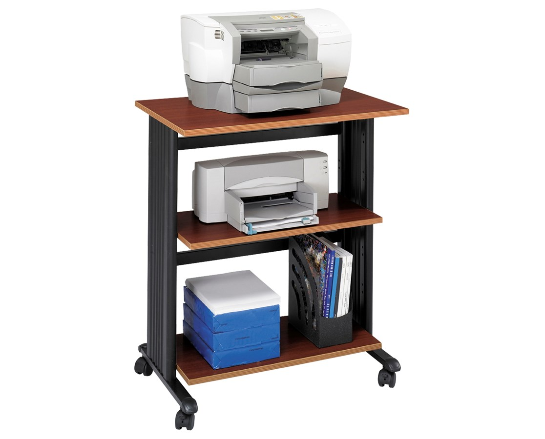 Safco Muv Three-Level Adjustable Printer Stand