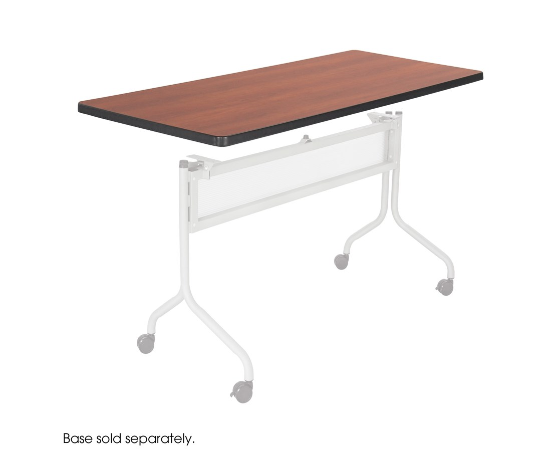 Safco Impromptu Mobile Training Table Rectangle Top
