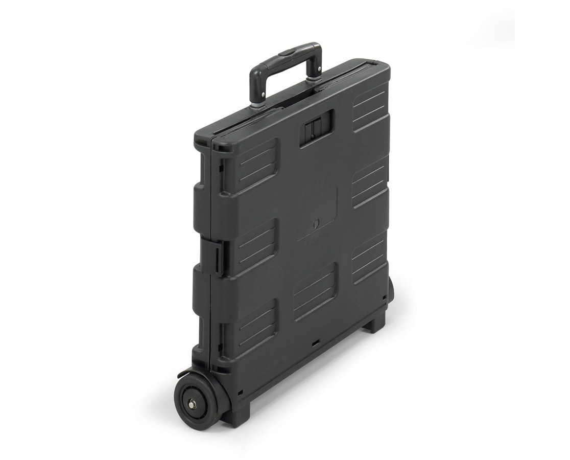 4054BL Safco Stow Away 50 lb Capacity Mobile Folding Crate