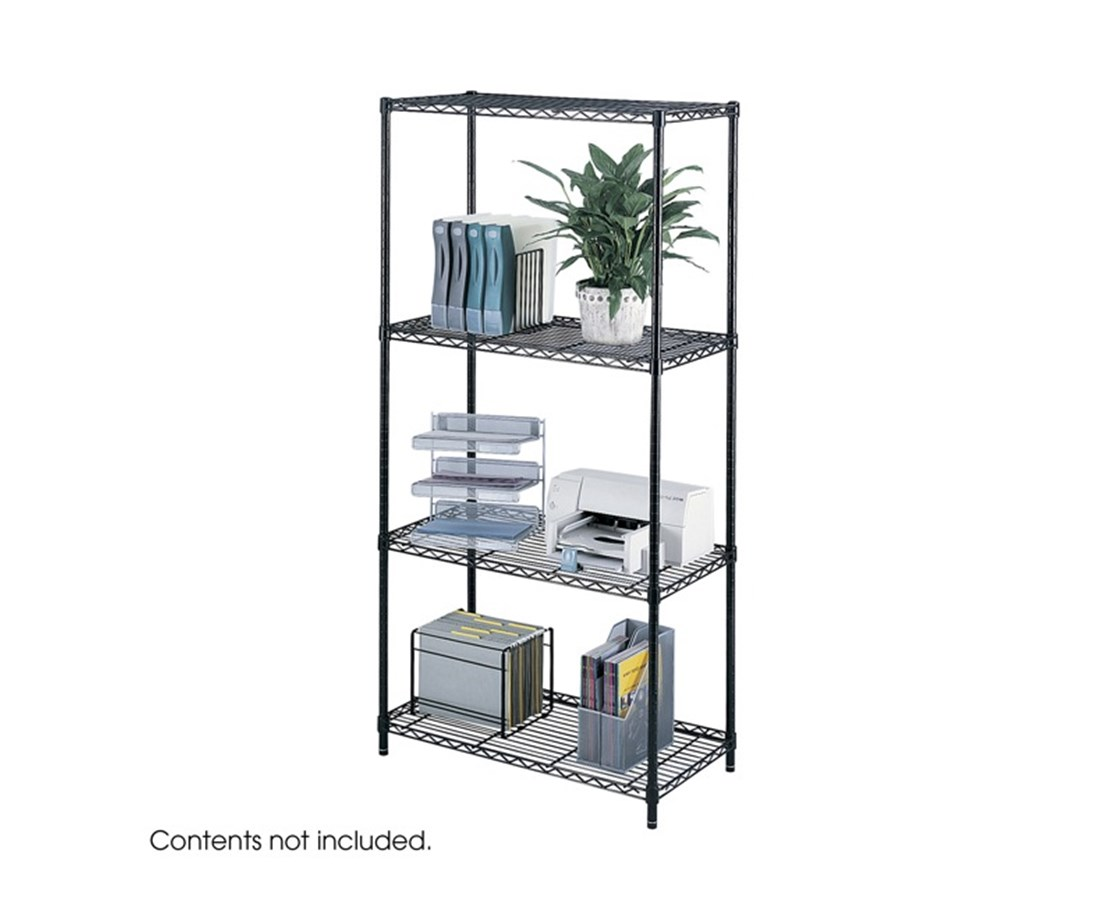 Safco Industrial Wire Shelving SAF5285BL-