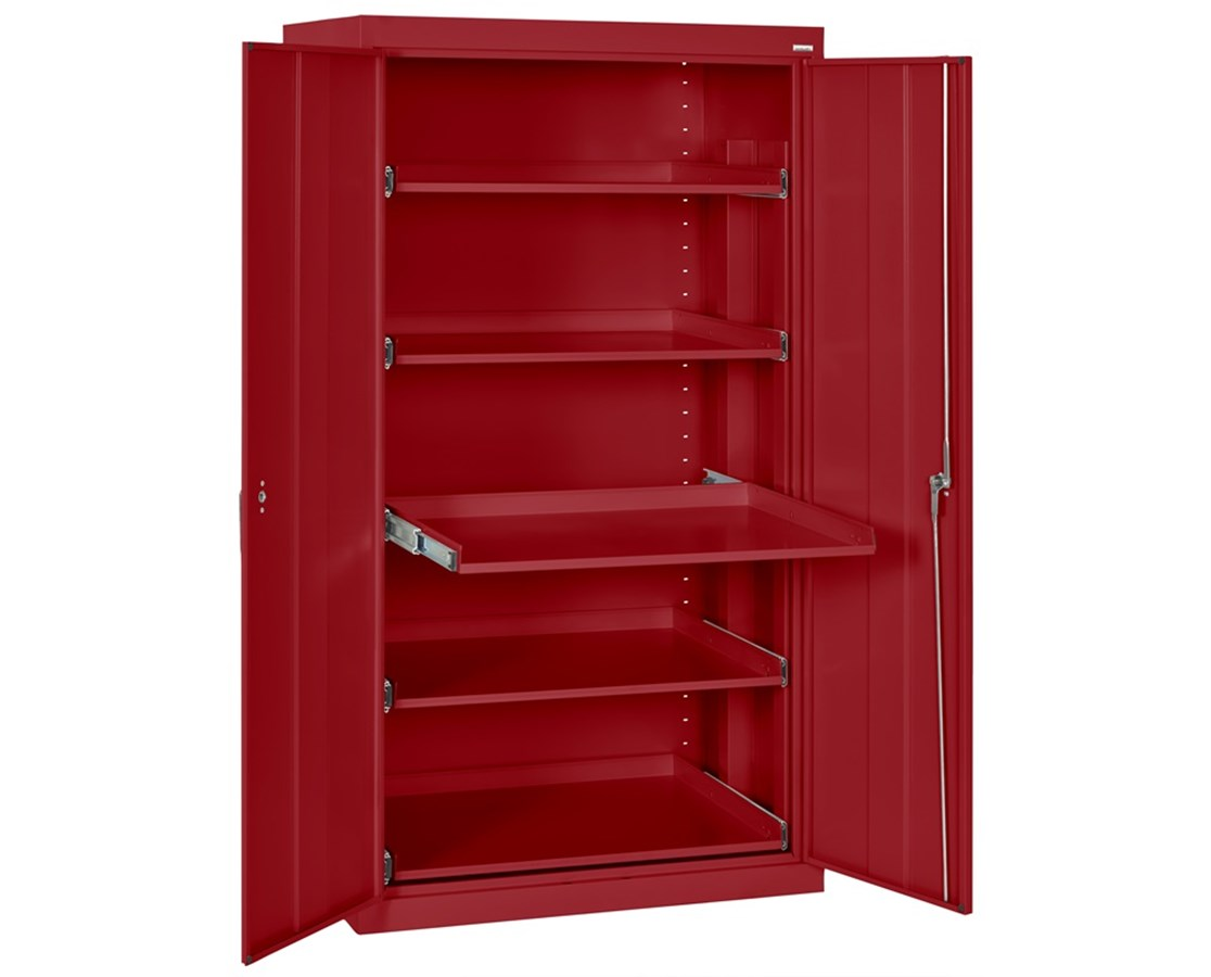 Sandusky Lee Storage Cabinet with Pull-Out Shelves SANET52362466-01LL