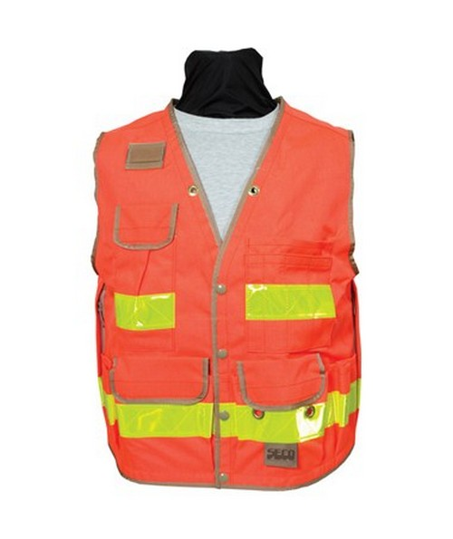 Seco 8067-Series Heavy-Duty Surveyors Utility Vest SECO8067