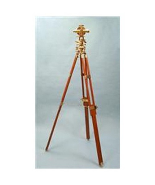 Calibrated Solid Brass Theodolite with Tripod and Hardwood Case SL1
