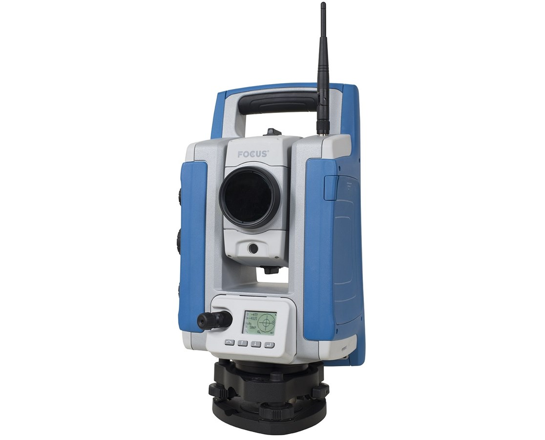 Spectra Focus 35 3 Second Robotic Total Station with Universal Charger  SPESUMR-35003