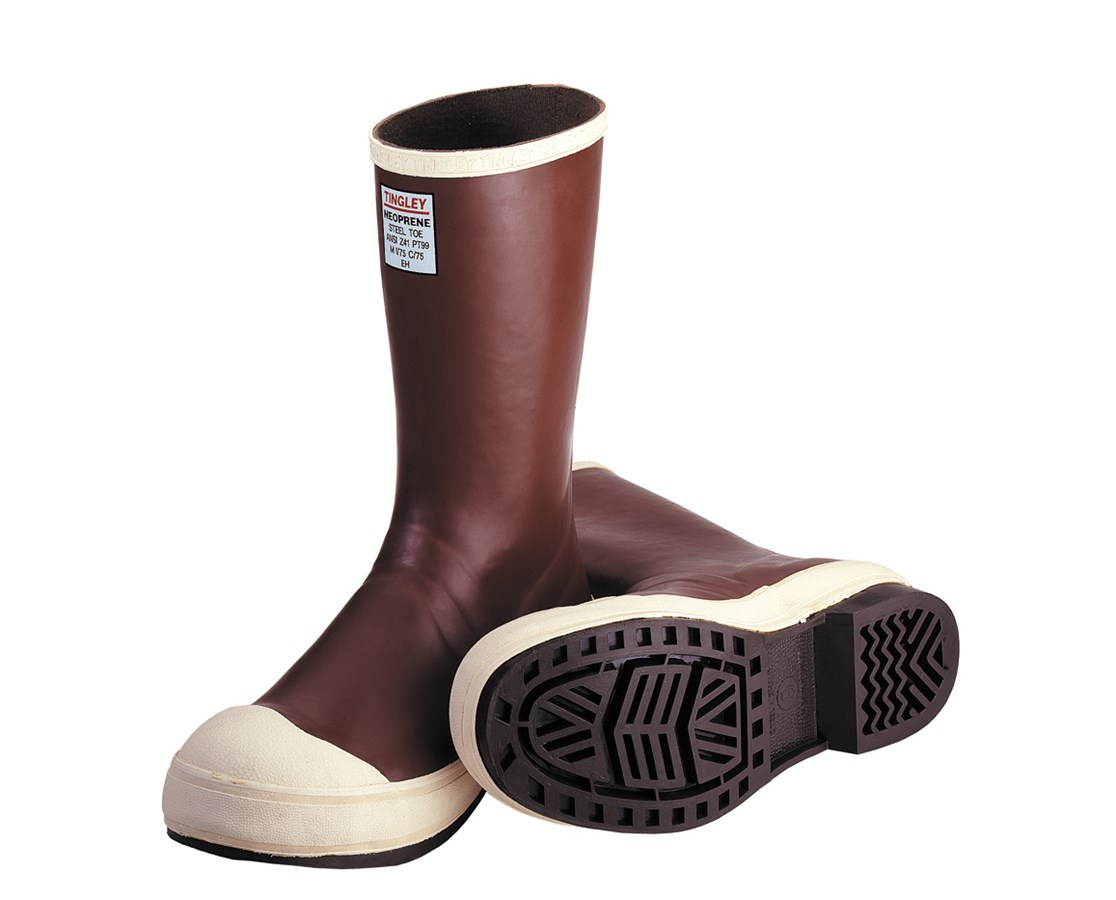 "NEOPRENE BOOTS (Triple dipped) - 12½"" Brick Red TINMB922B"