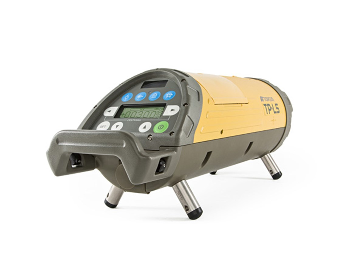 Topcon TP L5B Economy Red Beam Pipe Laser with LED Plumb