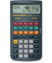 Calculated Industries Construction Master 5 Espanol 4054