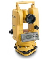 Topcon DT-209L 9 Second Advanced Digital Theodolite with Laser Pointer 60217