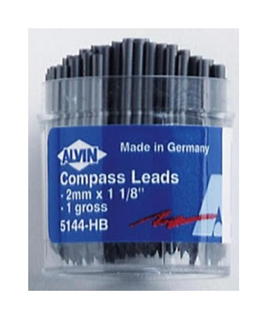 2mm COMPASS LEADS, 144/pk 5144-HB
