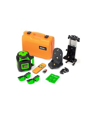 Johnson Self-Leveling Interior Rotary Green Beam Laser Kit 40-6545