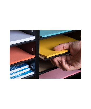 Adir Office 500 Series Wooden Literature Organizer