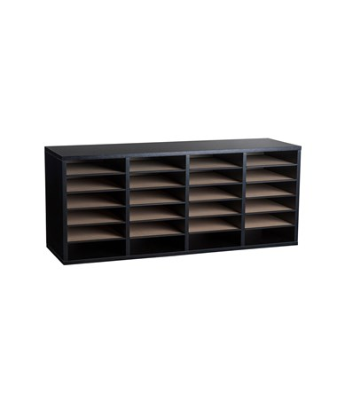 24 Compartments - Black