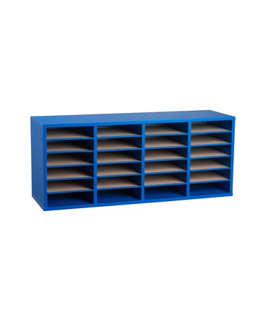 24 Compartments - Blue