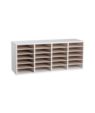 24 Compartments - White