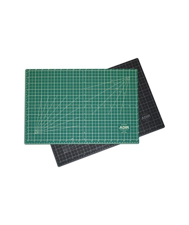 "Adir Self Healing Cutting Mat Reversible Green/Black 12""x18"" ADICM"