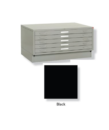 Archive Designs Stacor 5 Drawer Steel Flat File 24x36 Inch STA40