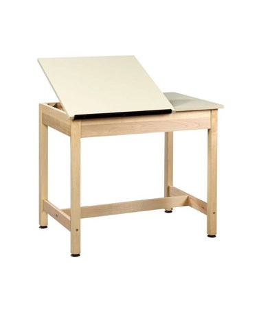 Alvin Shain Two-Piece Drawing Table ALVDT-9SA30-