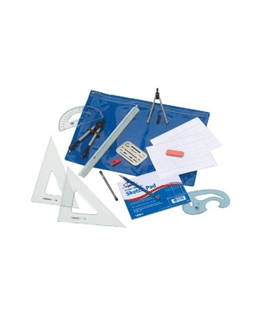 Basic Beginner Mechanical Drafting Kit BDK-1MD