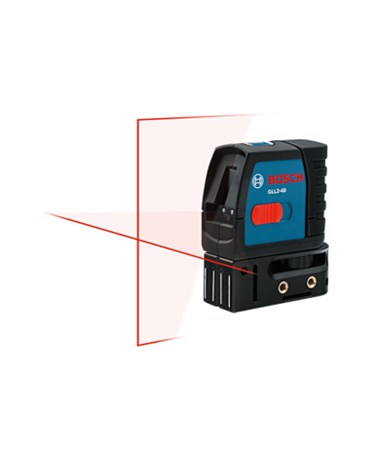 Bosch GLL2-40 Self Leveling Cross-Line Laser