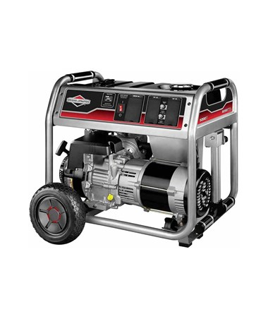 Briggs & Stratton 5,000 Watts Gas Powered Portable Generator with CARB Certificate 30681