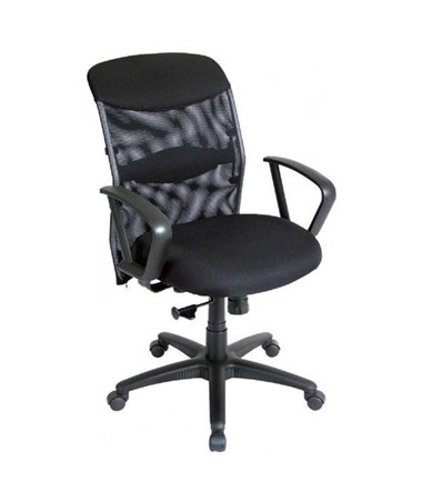 Alvin Salambro Mesh Fabric Managers Office Chair CH726