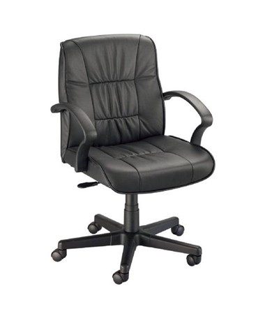 Alvin Art Director Executive Chair Black Leather CH777-90