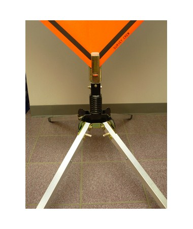 Single Spring Steel Sign Stand with Telescoping Legs CHR4022300