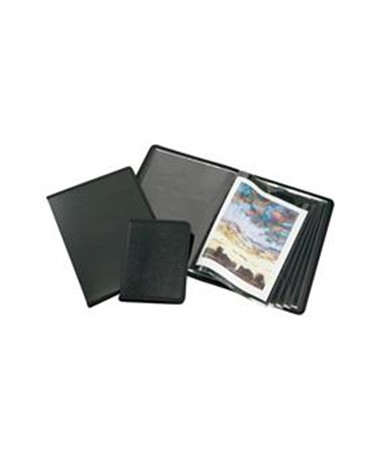 ART PRESENTATION BOOK 8.5X11 BLACK F932301